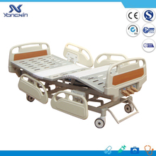 3 Crank Manual Hospital Bed With Pneumatic Side Rails YXZ-C-001