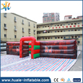 Huale new design PVC inflatable maze haunted for sale