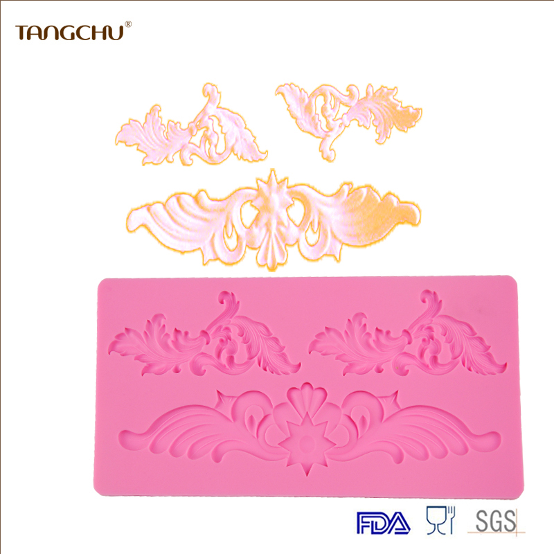 Sugar Lace Silicone Cake Tools Baking Mold New Arrival Cake Decoration