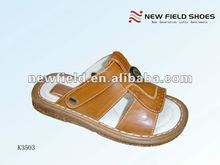 new popular fancy cross flat children slippers and sandals