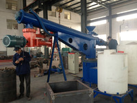 S25 Double arm resin sand mixer/mixing machine for foundry plant