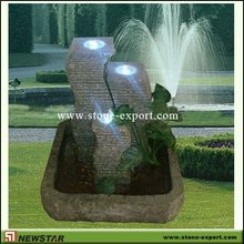 garden fountain lights,waterfall fountain