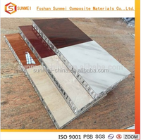 Fireproof 5052 aluminum honeycomb panel