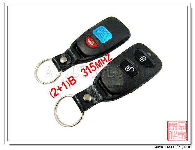 AK020015 High quality car key for Hyundai Santa Fe car 2+1 Remote Key frequency 315Mhz