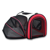 Multifunction expandable folding pet dog travel carry bag