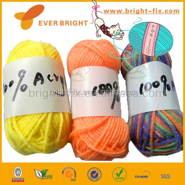 Nice soft yarn Acrylic yarn bulk price for wholesale yarn