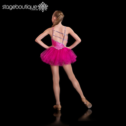 New style Hot Pink Silver Sequin adult ballet latin dance ballet leotards for kids