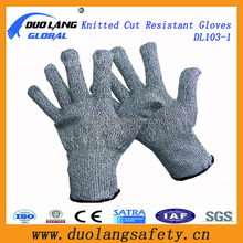 china Glassfiber liner cut resistant gloves