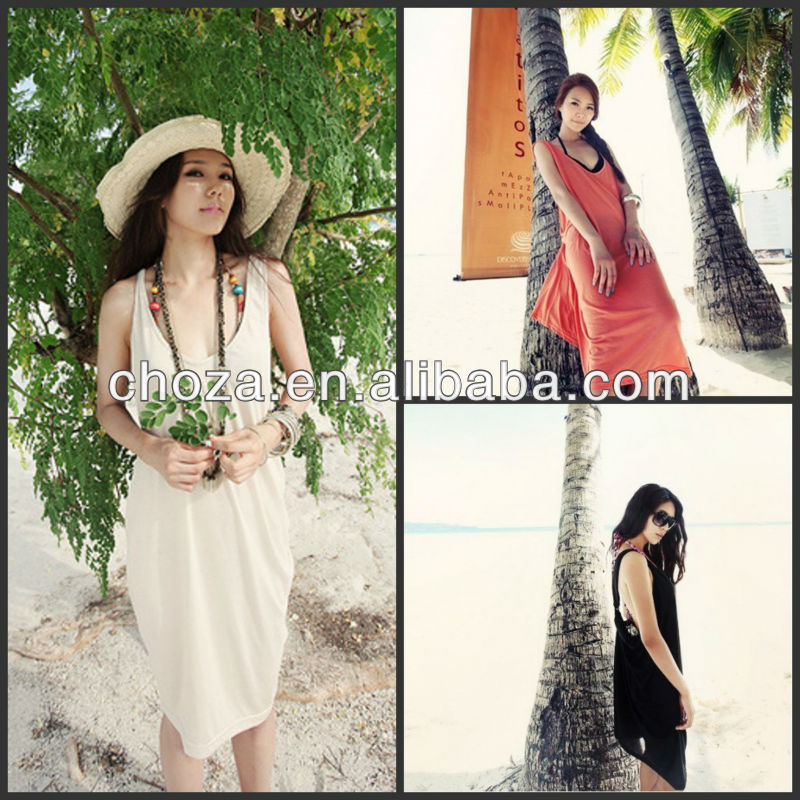 THE HOTTEST KOREA STYLE FASHION SEXY BEACH DRESSES