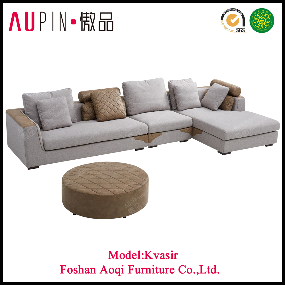 New design drawing room heated low wide seat sofa