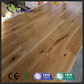 100% real solid hard wood flooring with smooth and handscraped and deep embossed surface