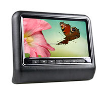 9 Inch Portable bracket Headrest car back entertainment system DVD Player With MP5 function+Touch screen