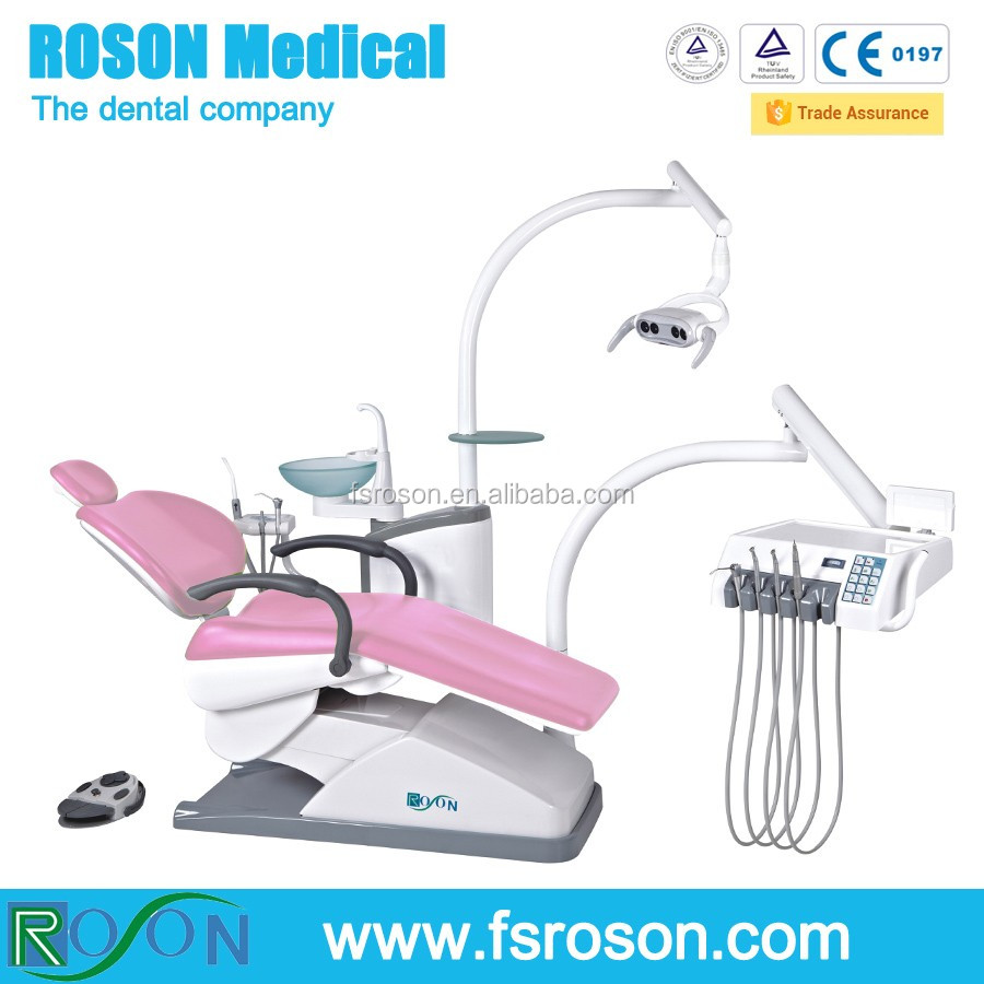 Luxury Electric China Dental Unit, Roson Dental chair unit, dental chair product
