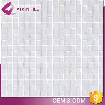 2017 China Manufactured Mixed Color Crystal Glass Mosaic