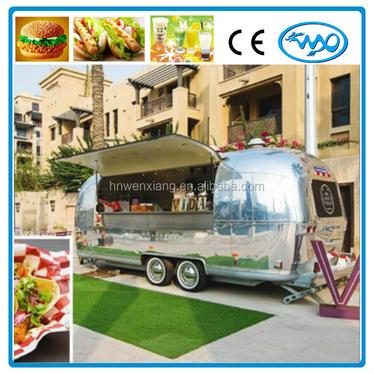 Mobile food truck/outdoor coffee cart/hot dog mobile food trailer