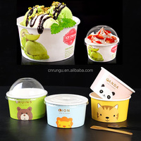 Wholesale Disposable Paper Soup Bowl For Ice Cream
