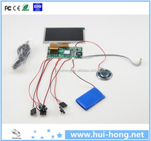 "video card module 4.3"" 5"" 7"" inch lcd video greeting card for creative advertising gifts"