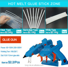 Crystal hot melt glue stick with competitive price