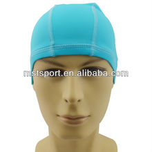 2015 New fashion funny adult spandex swimming caps