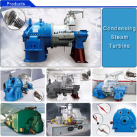 Pure Condensing Steam Turbine For Generate Electricity