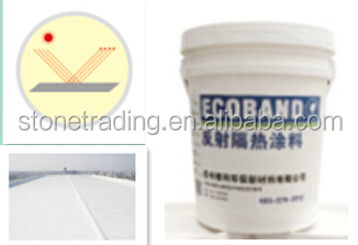 Cooling The Roof Temperature Reflective Heat Insulation Coating