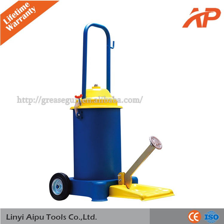 Foot grease gun For Construction Machines, from aipu tools