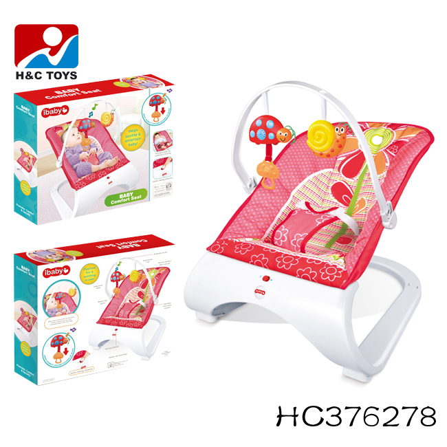 Most popular new style comfortable music rocking baby bouncer seat with vibrating HC376278