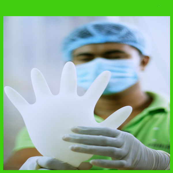 High Quality Latex Powdered Examination Gloves Imported and Manufactured from Malaysia for Bulk Purchase