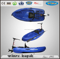 One seater Cheapest motorized canoe