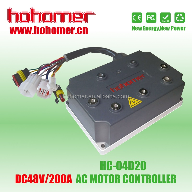 Hohomer electric car or electric vehicles usage DC / AC motor controller 20KW 300A DC72V