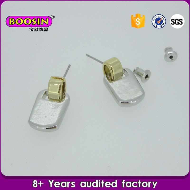 OEM/ODM jewelry gold earrings new model 2013