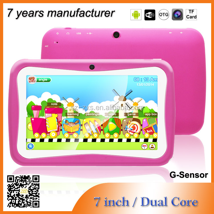 ZXS-C2 cheap stuff RK3026 dual core 512mb/4gb android dual camera kids tablet mid 7 inch