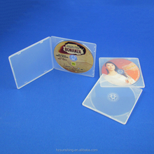 Clear 5mm Single CD DVD Disc PP Poly Plastic Cases