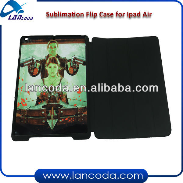 sublimation magnet flip case for ipad 5