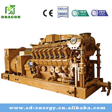 MW AC Three Phase Output Type Natural Gas Generator with Best Price