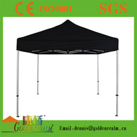 PU coated waterproof high quality aluminium frame foldable tent canopy