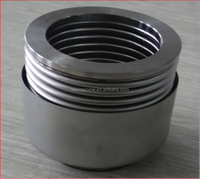 Flexible stainless stee bellow pipe aluminium alloy expansion joint covers