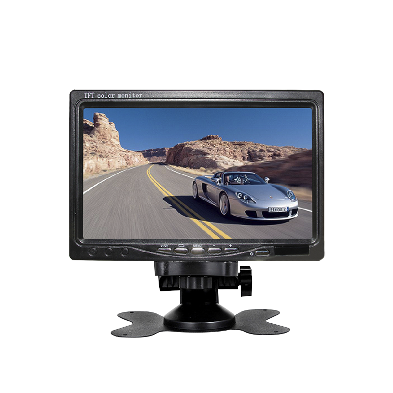 New design 7 inch tft lcd car tv monitor with great price
