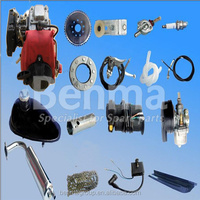 most popular 4 stroke bike gas engine kit, bicycles with petrol engine