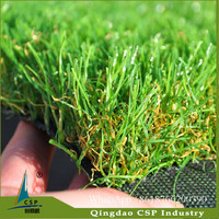 Easy installation and maintain man made grass fake grass artificial turf tiles