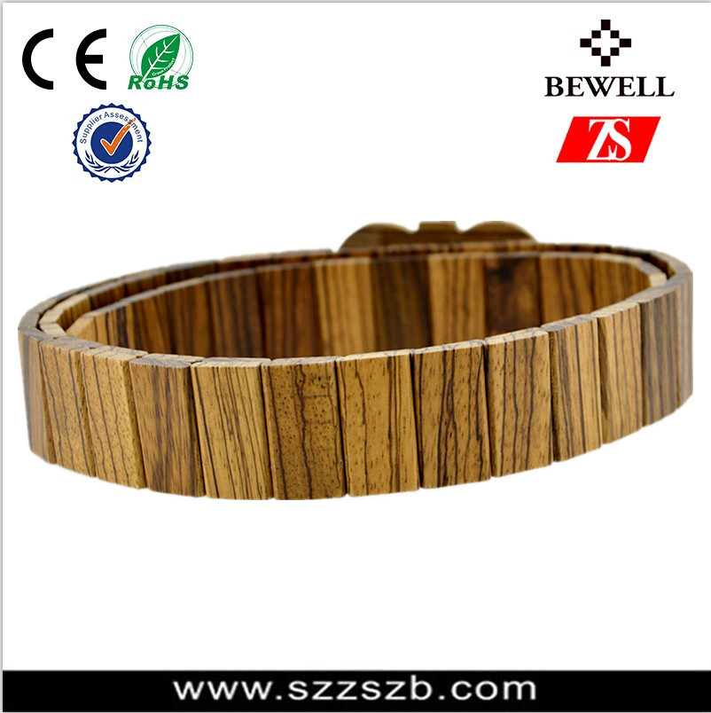 2016 new idea products factory wholesale man fashion natural wooden belts