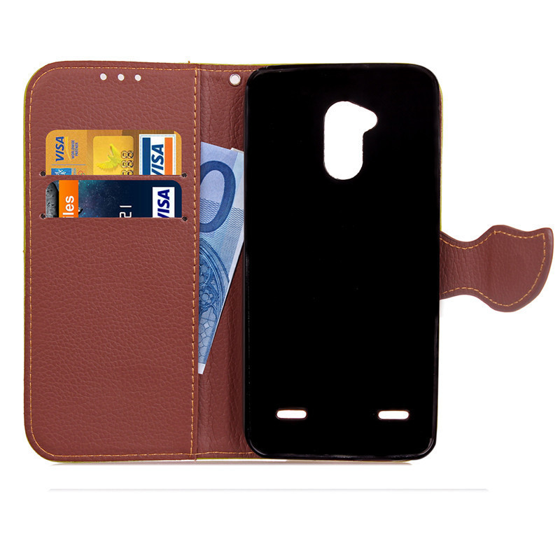 Hot Selling Wholesale Factory Price Mobile Phone Case for ZTE Blade V7 Lite PU Leather Flip Cell Phone Case for ZTE V7 Lite
