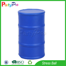 Partypro Best Selling Products Custom Logo PU Foam Oil Drum AntiStress Ball