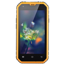 "Cheapest 4.5"" quad core Android 6.0 industry cell phone with wifi rugged smart phone with IP68 ruggedness dustproof"