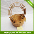 Eco-friendly wholesale handmade Bamboo Basket for home and garden