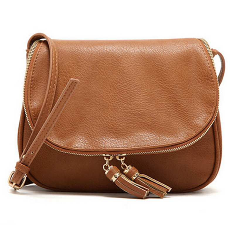 New Brand women Bags For Women Messenger Bags High Quality Tassel leather Handbags <strong>Shoulder</strong>