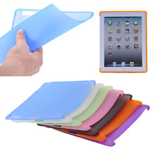 2015 hot selling for ipad 2/3/4, TPU back cover tablet for ipad 2/3/4