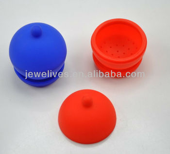 2014 New design silicone floating tea infusers