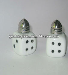 china factory direct fashion ceramic salt and pepper shaker