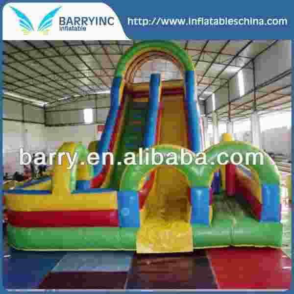 PVC tarpaulin giant inflatable water slide for sale USA